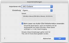 anleitung audio cd mit itunes auf den mac oder pc