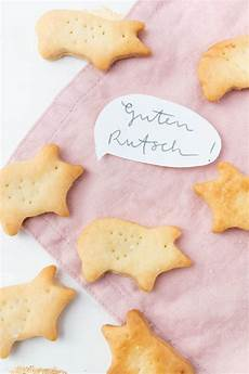 schweinchen cracker selber machen snack f 252 r silvester