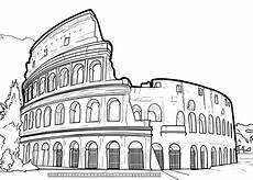 colosseum of rome coloring page free printable coloring