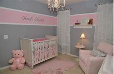 Rosa Grau Kinderzimmer - painting ideas for baby room sweet wall decorate