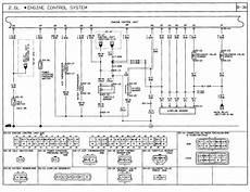 1991 mazda b2600i wiring diagram fuel injection engine control system b2600i com