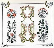 Nouveau Ornaments Graphic Design Deco Period
