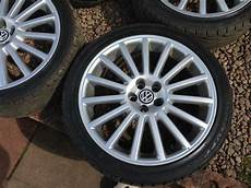 Volkswagen Golf Mk4 R32 Alloy Wheels 18inch 5x100 Genuine