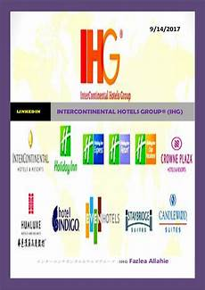intercontinental hotels group 174 ihg