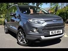 Used Ford Ecosport 1 0 Ecoboost Titanium 5dr X Pack Sea