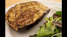 mediterrane aubergine aus dem ofen veganes rezept schlank