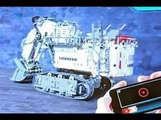 Lego Technik Neuheiten - lego technic liebherr 9800 42100 live presentation