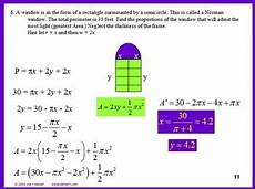 calculus derivatives max min optimization worksheet and