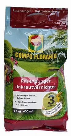Compo Rasend 252 Nger Plus Unkrautvernichter Floranid 12 Kg