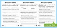 year 2 multiplication word problems homework worksheet