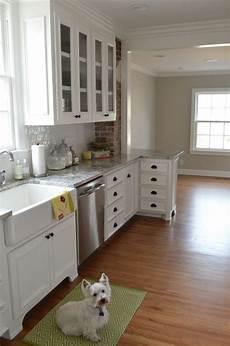 Kitchen Paint Satin by Walls Benjamin Revere Pewter Cabinets Benjamin
