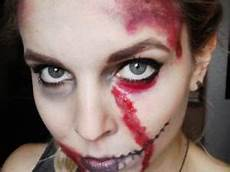 maquillage facile qui fait peur recette du maquillage qui fait peur par la margotte