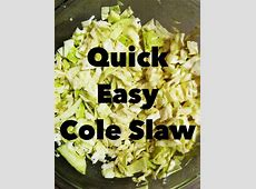 quick and easy cole slaw_image