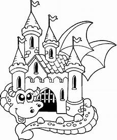 Malvorlage Ritterburg Mit Drachen 33 Besten Burgen Und Schl 246 Sser Malvorlagen Bilder Auf