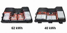 nissan leaf batterie nissan says new 62 kwh leaf battery has aesc cells