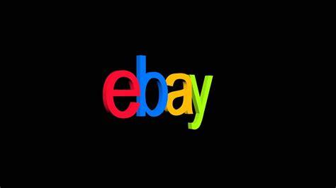 Ebay Logo Rotation (black Background)
