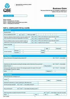 qbe general claim form