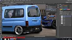 citroen berling 242 tuning photoshop