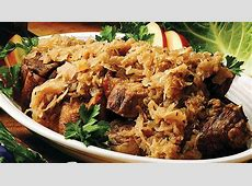 country ribs and sauerkraut_image