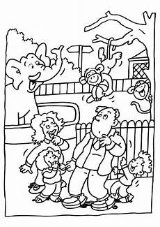Easy Zoo Coloring Pages Free Preschool Zoo Cliparts Free Clip Free