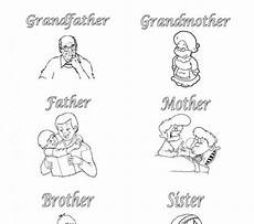family coloring worksheets for kindergarten 12915 family members coloring pages 2243649