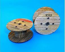 35 Holz Kabeltrommel Klein Mako Modellbau