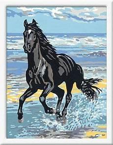 pferd am strand malen nach zahlen pferde ravensburger