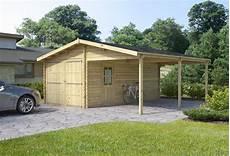 carport garage garage carport 6 x 6 m 4 246 00 log cabins sheds