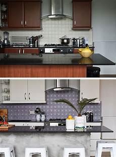 stickers credence cuisine 19 id 233 es pour une cr 233 dence adh 233 sive imitation carreaux de