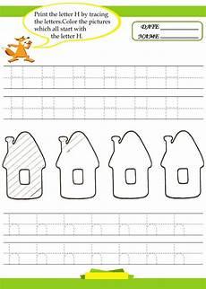worksheets letter h kindergarten letter h worksheets for preschool preschool and kindergarten