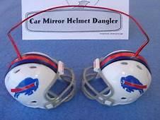 Buffalo Bills Car Mirror NFL Football Helmet Dangler Hang