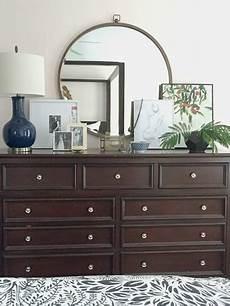 Bedroom Dresser With Mirror Decor Ideas by Styling Our Bedroom Dresser Emily A Clark