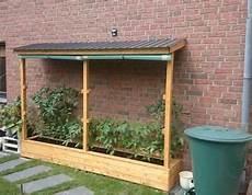 gewächshaus tomaten selber bauen ein tomatenhaus ans haus angelehnt holz garten tomaten gem 252 seanbau garten tomaten haus