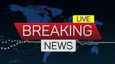 live news breaking news live motion banner on worldmap business