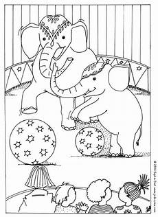 circus sheets transmissionpress circus elephant coloring pages