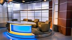 New Broadcast News Anchor Desk For Sale Tv Set Designs