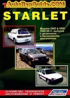 free car manuals to download 1999 toyota land cruiser regenerative braking download free toyota starlet 1989 1999 repair manual image by autorepguide com