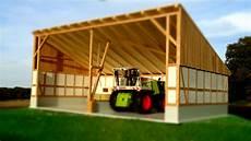 garage aus holz selber bauen der gro 223 e trecker unterstand aus holz holz handwerk