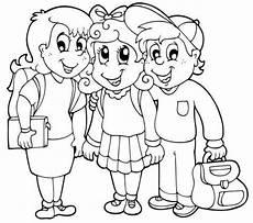 Schule Und Familie De Ausmalbilder Kostenlose Malvorlage Schule Drei Grundsch 252 Ler Zum