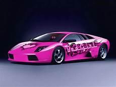 Wallpaper Pink Lamborghini