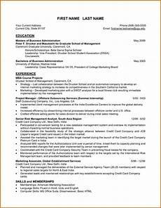 sle resume format for mba finance freshers