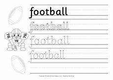 sports handwriting worksheets 15804 american football handwriting worksheet