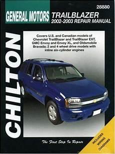 old car owners manuals 2003 chevrolet trailblazer navigation system general motors trailblazer 2002 2003 chilton s total car care repair manual at virtual parking