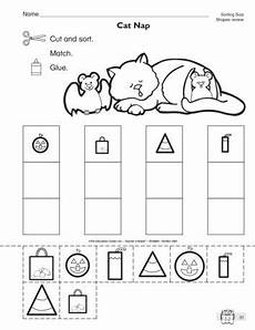 sorting shapes worksheets grade 1279 this math worksheet has students sorting shapes of different sizes for october shape