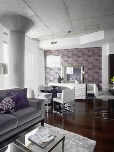 Modern Purple Living Room Ideas
