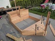sandkasten selber bauen diy piratenschiff sandkasten sandkasten piratenschiff