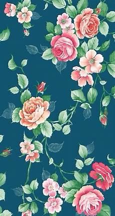 iphone wallpaper floral pattern vintage flowers floral pattern iphone wallpapers mobile9
