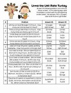 unit rate word problem worksheets 6th grade 11157 autumn word problems with unit rate proportion rate word problems thanksgiving words the unit