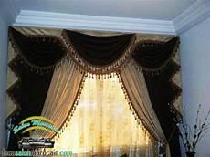 les caches rideaux rideaux occultant marron beige salon marocain
