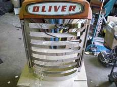 used farm tractors for sale chrome 770 880 oliver grill